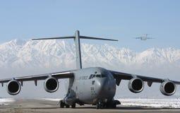 C - 17个GLOBEMASTER 免版税图库摄影
