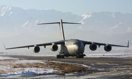 C - 17 GLOBEMASTER Royalty-vrije Stock Afbeeldingen
