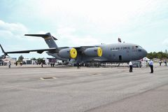 C17 Globemaster III transport Stock Photos