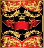 C gouden (Engels) patroon als achtergrond Royalty-vrije Stock Foto's
