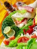 c grillowany zdrowy posiłek lato zdjęcie stock