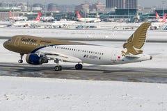 A9C-AM Gulf Air, flygbuss A320-200 Royaltyfri Fotografi