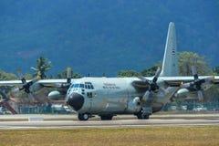 C-130H Hercules Royal Thai Air Force fotografía de archivo libre de regalías