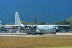 C-130H Hercules Royal Thai Air Force imagen de archivo libre de regalías