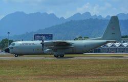 C-130H Hercules Royal Thai Air Force imagen de archivo