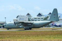 C-130H Hercules Royal Thai Air Force imagenes de archivo