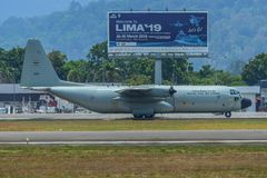 C-130H Hercules Royal Thai Air Force fotografía de archivo
