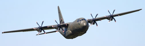 C130 Hercules aircraft Royalty Free Stock Images