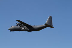 C-130 Hercules military transport plane Royalty Free Stock Photo