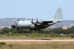 C-130 Hercules Spain Royalty Free Stock Photography