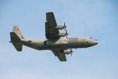 C130 Hercules transport aircraft Royalty Free Stock Photos
