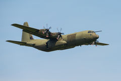 C130 Hercules transport aircraft Royalty Free Stock Image