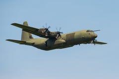 C130 Hercules transport aircraft. Lockheed C130 Hercules transport aircraft Royalty Free Stock Image