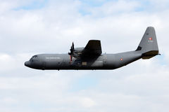 C-130 Hercules transport plane Stock Images