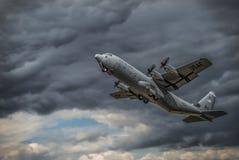 C-130 Herkules stockfotos