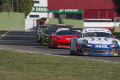 C I Corsa di automobile di Gran Turismo Fotografia Stock