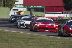 C.I. Gran Turismo car racing Stock Photos
