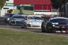C.I. Gran Turismo car racing Royalty Free Stock Photo