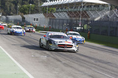 C I Springa för Gran Turismo bil Arkivfoto