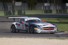 C I Springa för Gran Turismo bil Arkivbilder