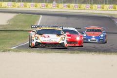C I Springa för Gran Turismo bil Arkivfoton