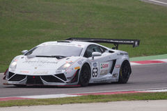 C I Springa för Gran Turismo bil Fotografering för Bildbyråer