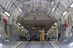 C-17 interior Royalty Free Stock Image