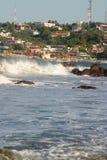 C ity durch die Wellen Lizenzfreies Stockfoto
