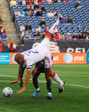 C.J. Brown, Chicago Fire Royalty Free Stock Image