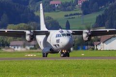 C-27J espartano Imágenes de archivo libres de regalías