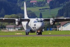 C-27J spartiate Images libres de droits
