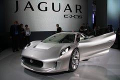 c jaguar x75 Zdjęcie Stock