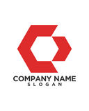 C letter Business Finance professional logo vector. For financial business insurance abstract Royalty Free Stock Image