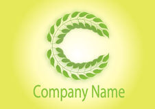 C-logo stock illustrationer