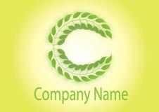 C logo Royalty Free Stock Images