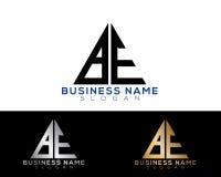 A.C. Logo Letters con oro y colores negros Foto de archivo libre de regalías