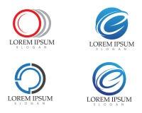 C märker teknologiaffären Logo Template Design Vector Royaltyfria Foton