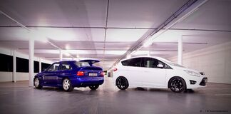 C-max and EsCos Royalty Free Stock Images