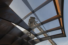 C-mijn in Genk, België Royalty-vrije Stock Foto's