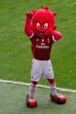 C.A. Milão da mascote Foto de Stock