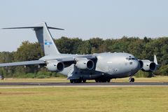 C-17 military cargo aircraft Royalty Free Stock Image