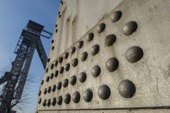 C-min i Genk, Belgien Arkivbild