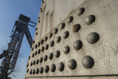 C-mine dans Genk, Belgique Photographie stock