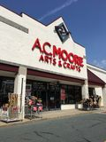 A C Moore. Arts and crafts shopping store art supplies Stock Image