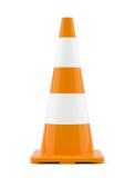 Cône orange du trafic Photographie stock libre de droits