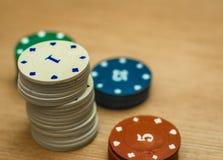 Cônes de casino Photographie stock