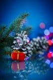 Cônes de sapin de Noël Image libre de droits