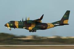 C295 novo no voo da entrega Fotos de Stock Royalty Free