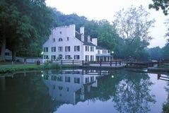 C & O运河,巨大秋天,马里兰 免版税库存图片