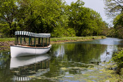 C&O Canal Boat Royalty Free Stock Photography